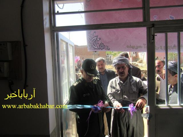 افتتاح مدرسه دو كلاسه اشتر آباد بانه