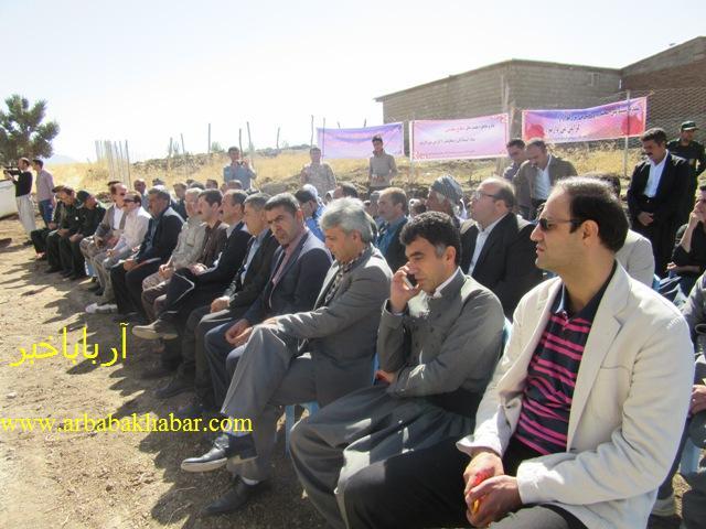 افتتاح مدرسه دو كلاسه روستاي اشتر آباد بانه