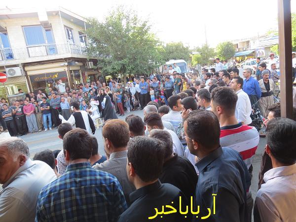 کردتودی- نمایش خیابانی - بانه